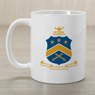 Pi Kappa Phi Greek Crest Coffee Mug