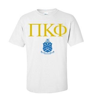 Pi Kappa Phi Greek Crest - Shield T-Shirt