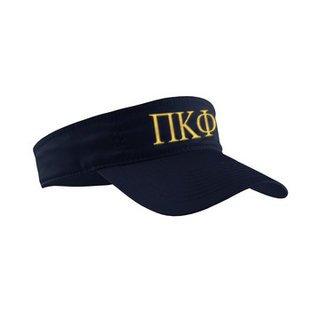 Pi Kappa Phi Greek Letter Visor