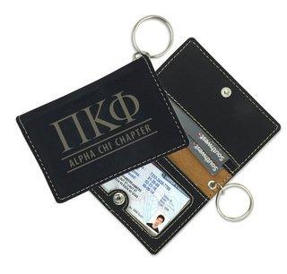 Pi Kappa Phi Leatherette ID Key Holders