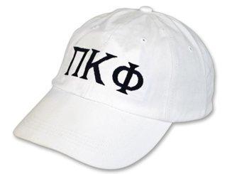 Pi Kappa Phi Letter Hat