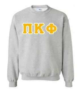 Pi Kappa Phi Sewn Lettered Crewneck Sweatshirt