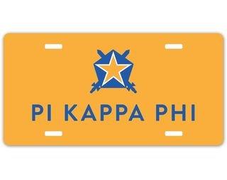 Pi Kappa Phi Logo License Cover