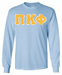 Pi Kappa Phi Lettered Long Sleeve Shirt