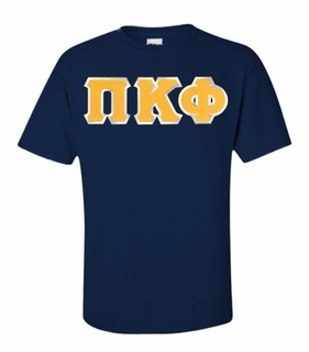 Pi Kappa Phi Lettered T-shirt - MADE FAST!