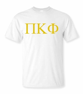 Pi Kappa Phi Lettered Tee - $9.95! - MADE FAST!