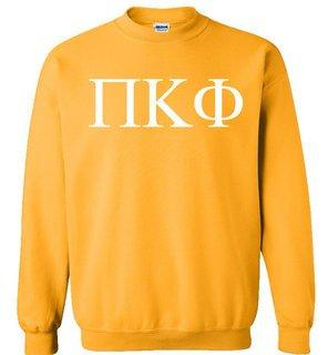 Pi Kappa Phi Lettered World Famous $19.95 Greek Crewneck