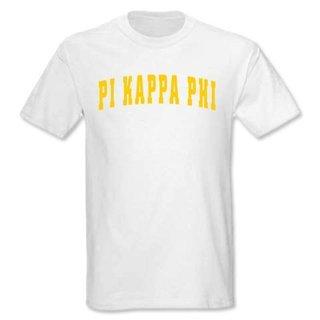Pi Kappa Phi letterman tee