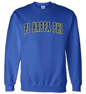 Pi Kappa Phi Letterman Twill Crew