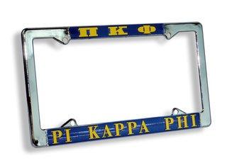 Pi Kappa Phi License Plate Frame