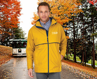 Pi Kappa Phi Men's New Englander� Rain Jacket