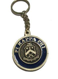 Pi Kappa Phi Metal Fraternity Key Chain