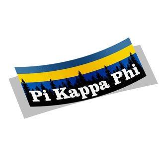 Pi Kappa Phi Mountain Decal Sticker