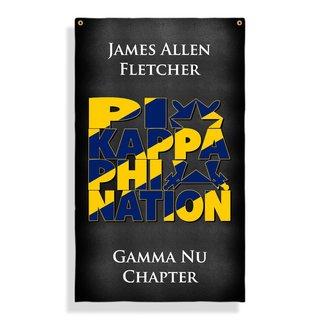 Pi Kappa Phi Nations Giant Flag