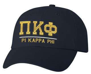 Pi Kappa Phi Old School Greek Letter Hat