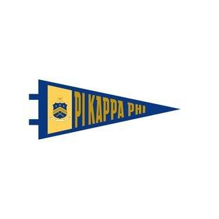 "Pi Kappa Phi Pennant Decal 4"" Wide"