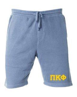 Pi Kappa Phi Pigment-Dyed Fleece Shorts