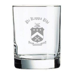 Pi Kappa Phi Old Style Glass