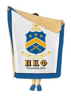 Pi Kappa Phi Sherpa Lap Blanket