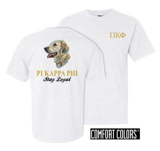Pi Kappa Phi Stay Loyal Comfort Colors T-Shirt