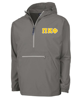 Pi Kappa Phi Tackle Twill Lettered Pack N Go Pullover