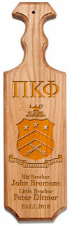 Pi Kappa Phi Traditional Greek Paddle