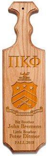 Pi Kappa Phi Traditional Greek Paddle