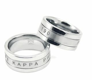 Pi Kappa Phi Tungsten Ring