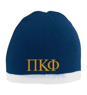 Pi Kappa Phi Two Tone Knit Beanie