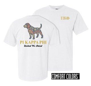 Pi Kappa Phi United We Stand Comfort Colors T-Shirt