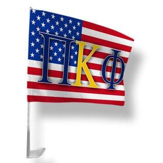 Pi Kappa Phi USA Car Flag