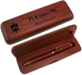 Pi Kappa Phi Wooden Pen Set