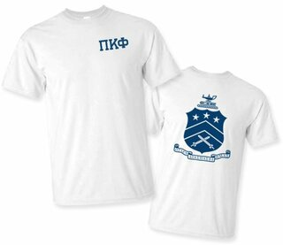Pi Kappa Phi World Famous Crest - Shield Tee