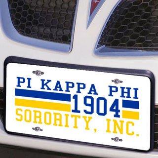 Pi Kappa Phi Year License Plate Cover