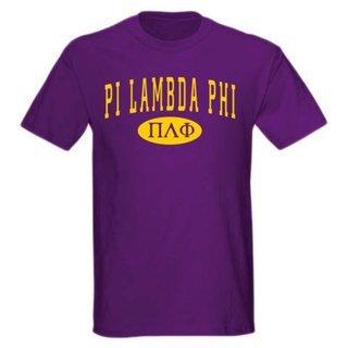 Pi Lambda Phi arch tee