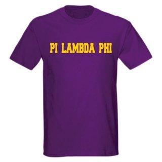 Pi Lambda Phi college tee