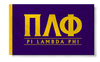 Pi Lambda Phi Custom Line Flag