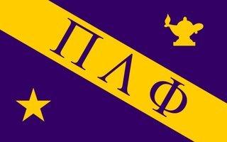 Pi Lambda Phi Flag Decal Sticker