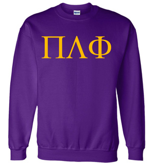 Pi Lambda Phi Lettered World Famous Greek Crewneck