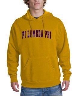 Pi Lambda Phi letterman Hoodie