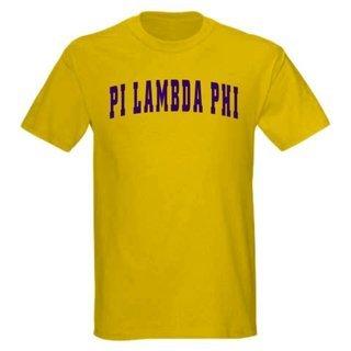 Pi Lambda Phi letterman tee