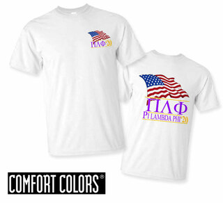 Pi Lambda Phi Patriot  Limited Edition Tee - Comfort Colors