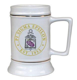 Pi Sigma Epsilon Ceramic Stein