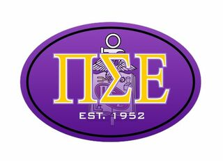 Pi Sigma Epsilon Color Oval Decal