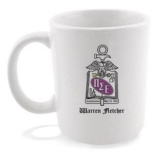 Pi Sigma Epsilon Crest - Shield Coffee Mug
