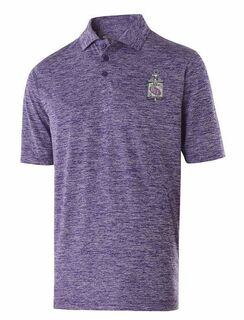 Pi Sigma Epsilon Greek Crest Emblem Electrify Polo