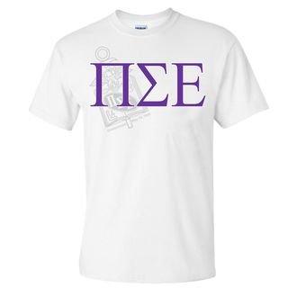 Pi Sigma Epsilon Greek Crest - Shield T-Shirt