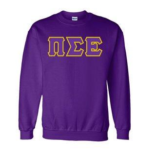 Pi Sigma Epsilon Lettered Crewneck Sweatshirt