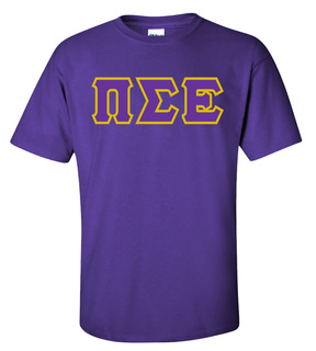 Pi Sigma Epsilon Lettered T-Shirt