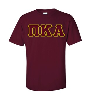 PIKE Sewn Lettered T-Shirt